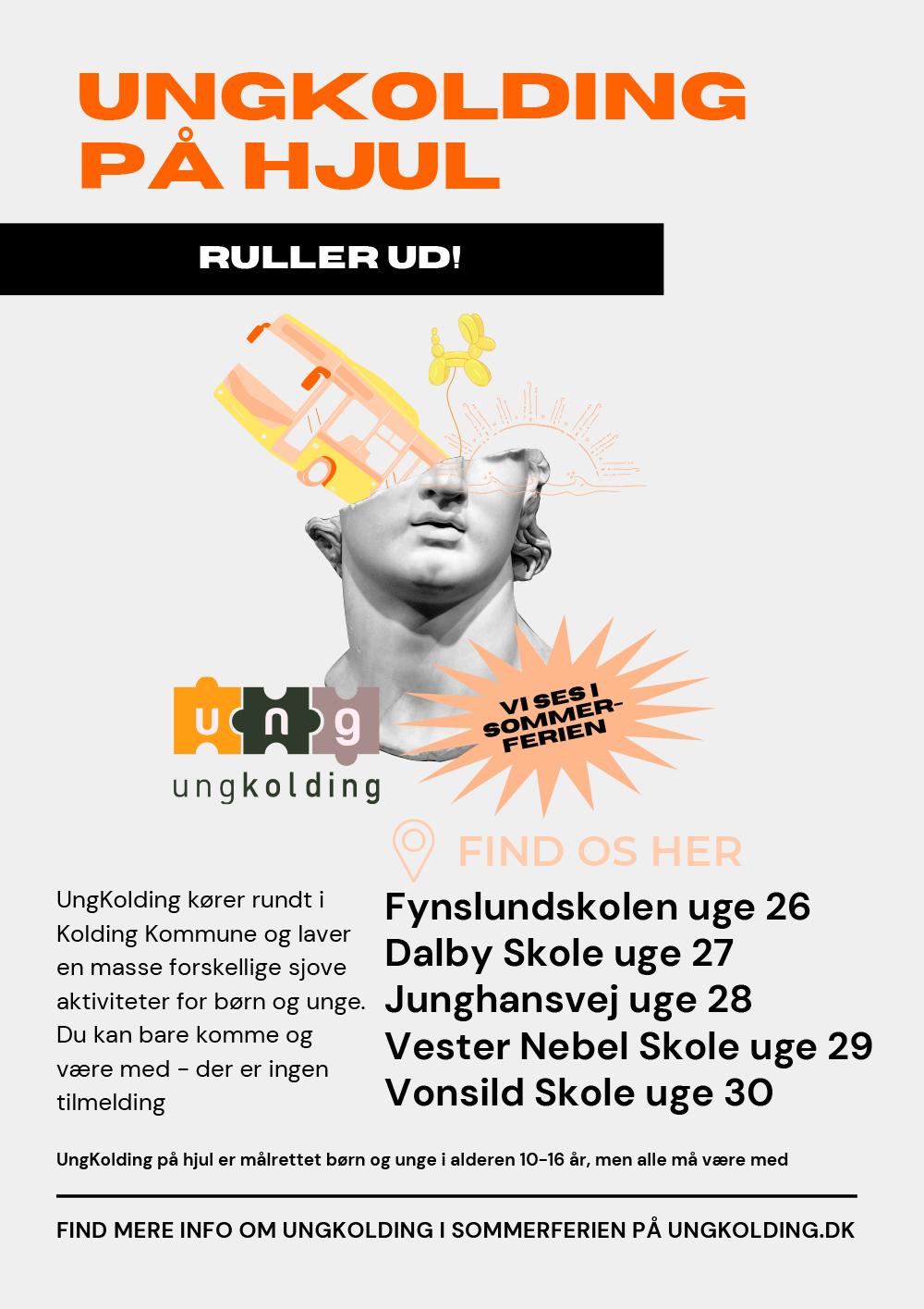 UngKolding på hjul sommer 2021